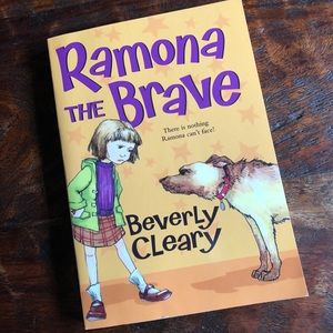 Ramona The Brave paperback book